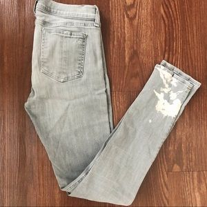Rag & Bone Grey Skinny Jeans